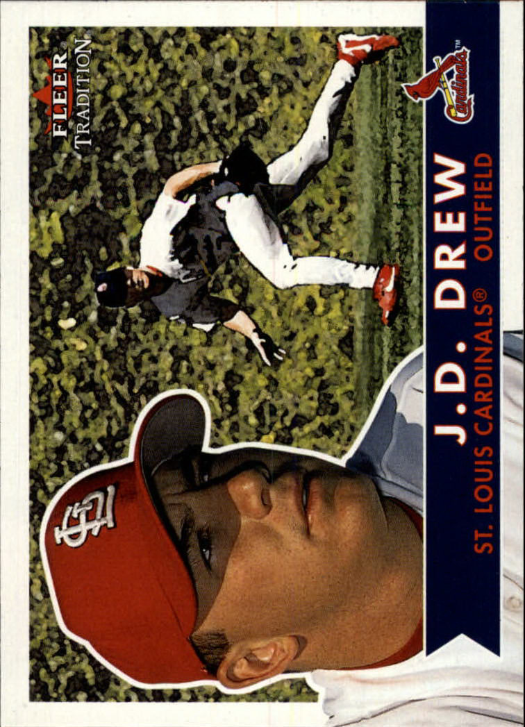 2001 Fleer Tradition #328 J.D. Drew