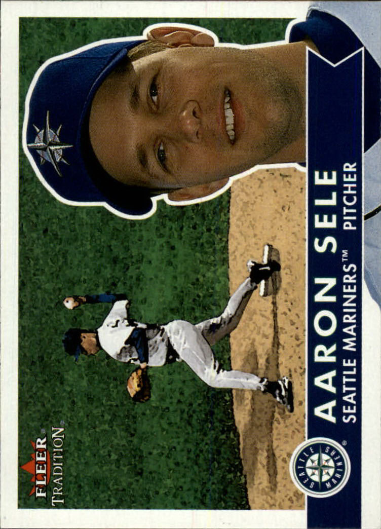 2001 Fleer Tradition #338 Aaron Sele