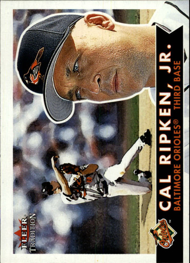2001 Fleer Tradition #340 Cal Ripken