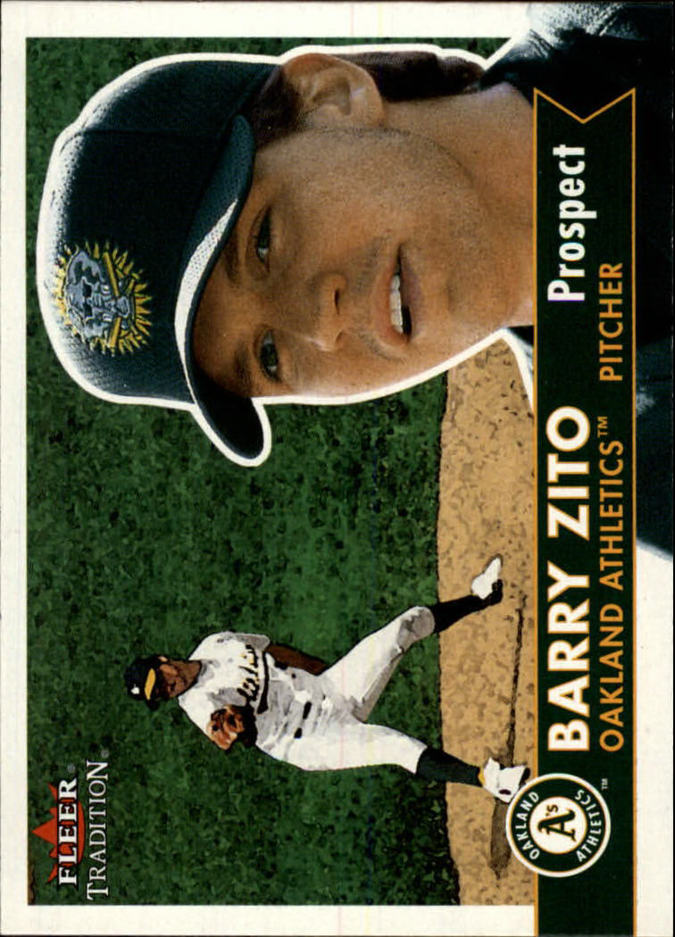 2001 Fleer Tradition #352 Barry Zito