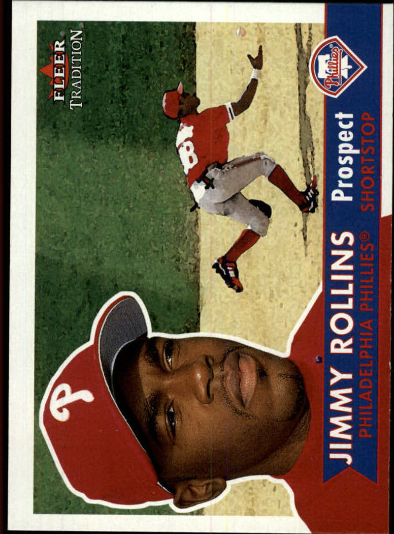2001 Fleer Tradition #377 Jimmy Rollins