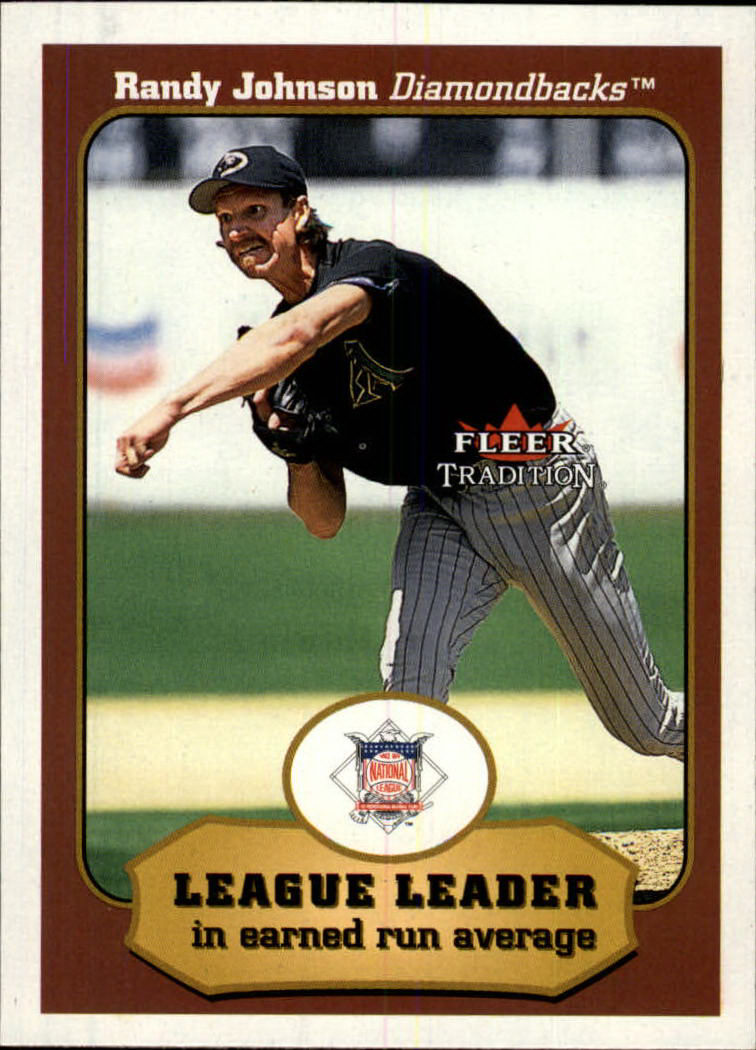 2001 Fleer Tradition #401 Randy Johnson LL