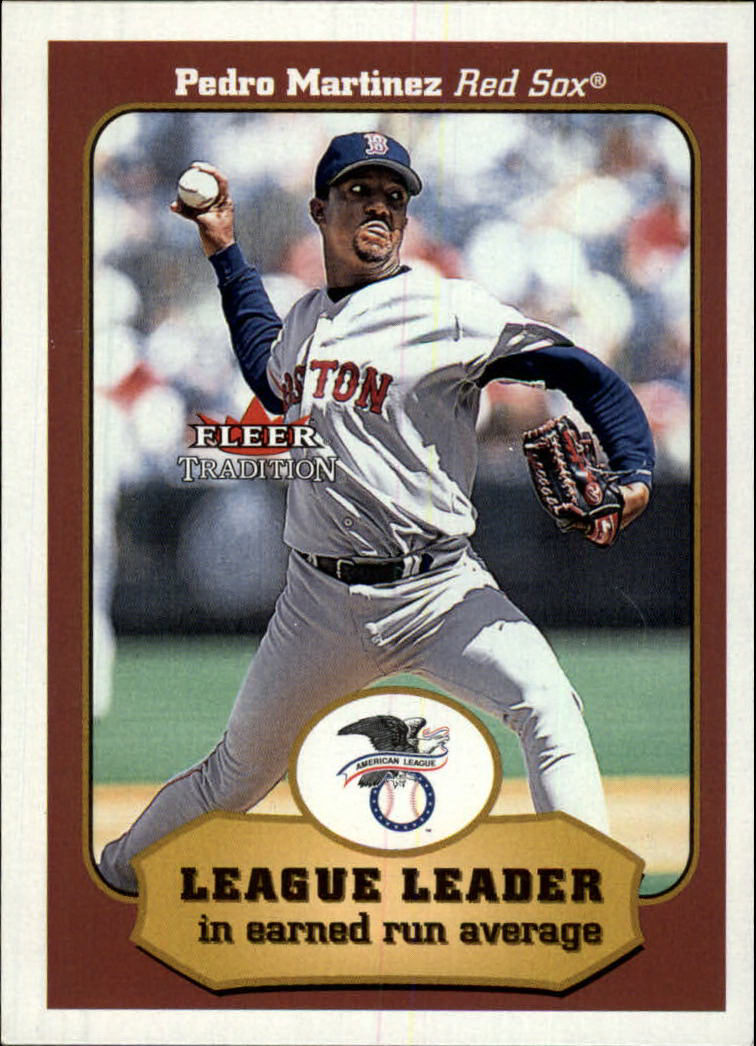2001 Fleer Tradition #406 Pedro Martinez LL