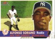 2001 Fleer Tradition #481 Alfonso Soriano