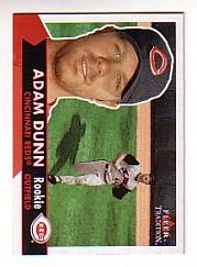 2001 Fleer Tradition #485 Adam Dunn