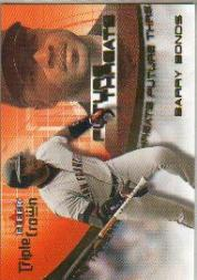 2001 Fleer Triple Crown Future Threats #FT8 Barry Bonds