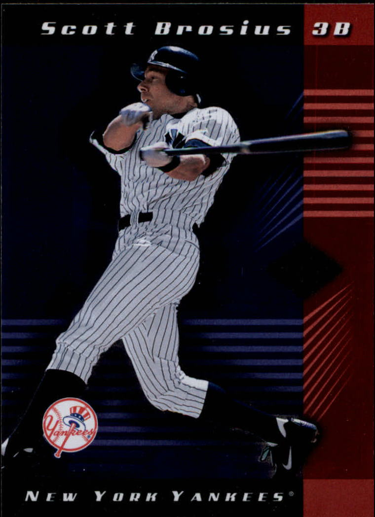 2001 Leaf Limited #4 Scott Brosius