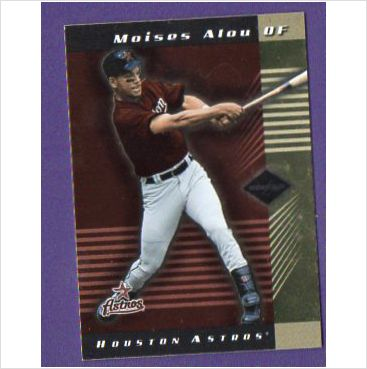 2001 Leaf Limited #9 Moises Alou