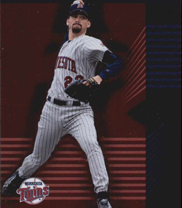 2001 Leaf Limited #21 Brad Radke