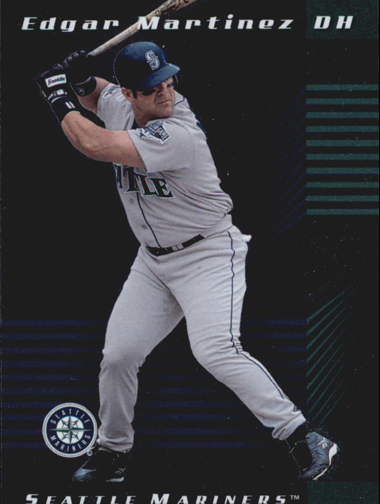2001 Leaf Limited #25 Edgar Martinez