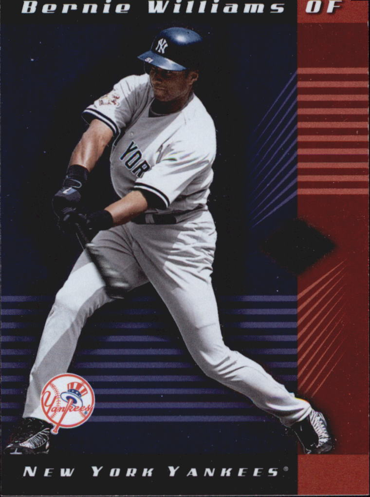2001 Leaf Limited #34 Bernie Williams
