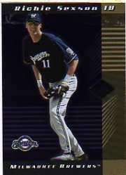 2001 Leaf Limited #40 Richie Sexson