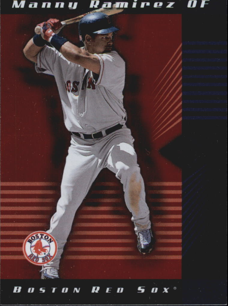 2001 Leaf Limited #65 Manny Ramirez Sox