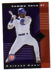 2001 Leaf Limited #66 Sammy Sosa