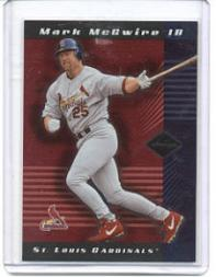 2001 Leaf Limited #70 Mark McGwire