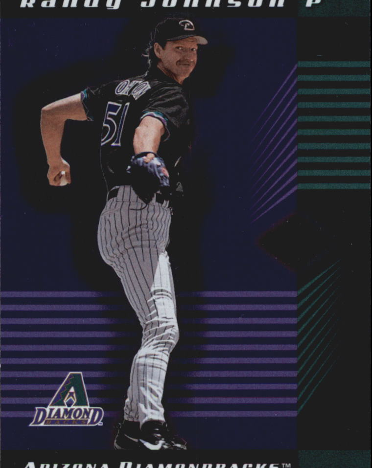 2001 Leaf Limited #77 Randy Johnson