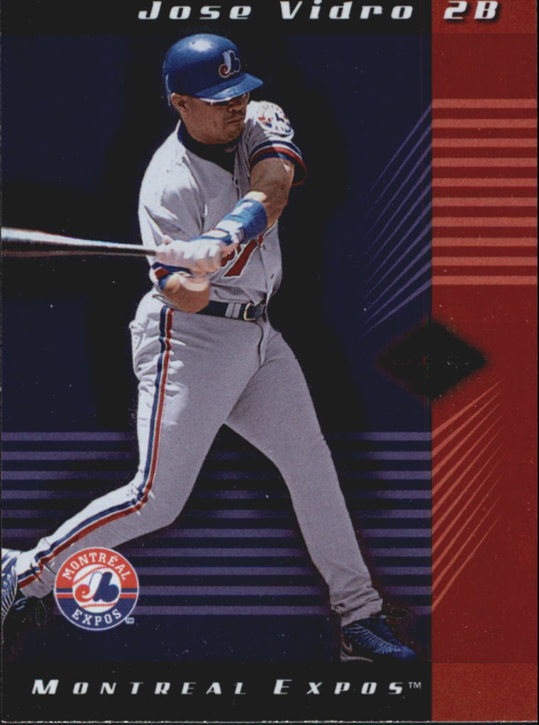 2001 Leaf Limited #85 Jose Vidro