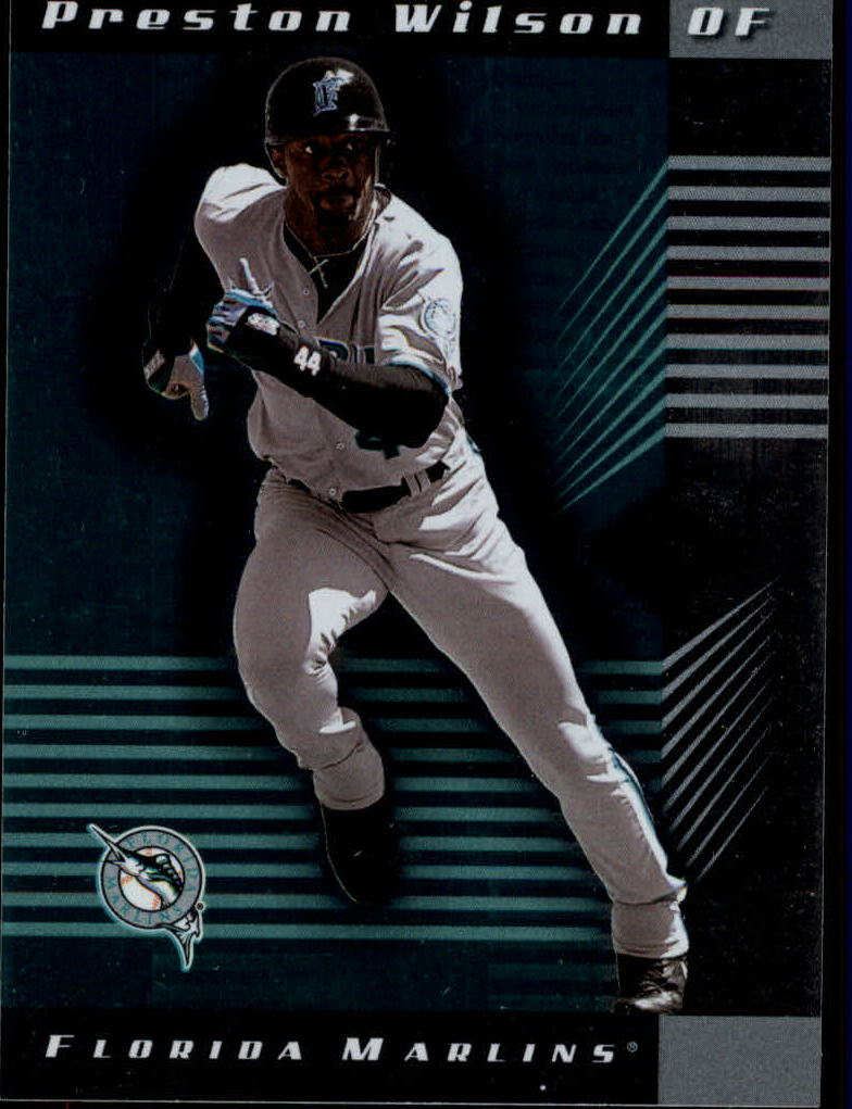 2001 Leaf Limited #93 Preston Wilson