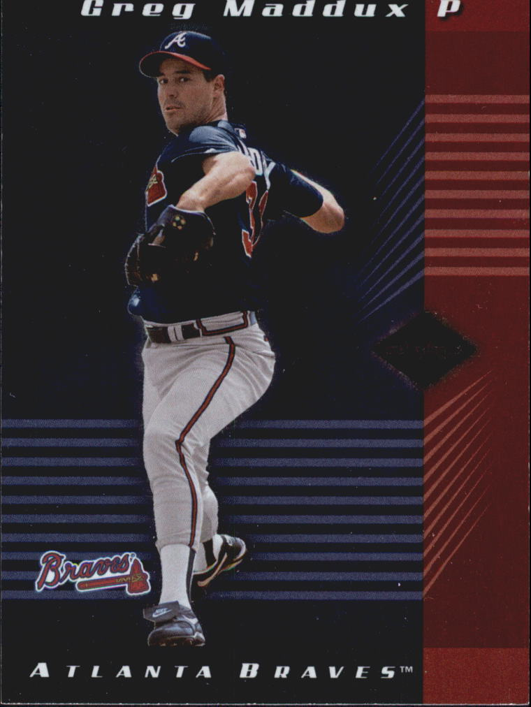 2001 Leaf Limited #94 Greg Maddux
