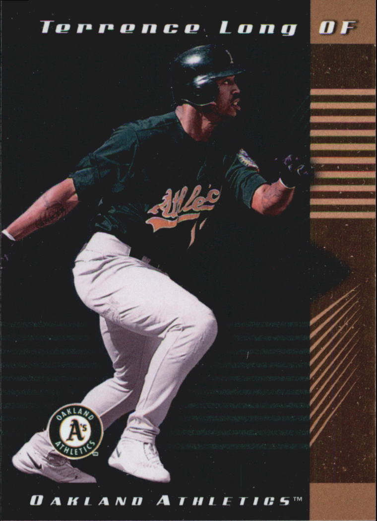 2001 Leaf Limited #104 Terrence Long