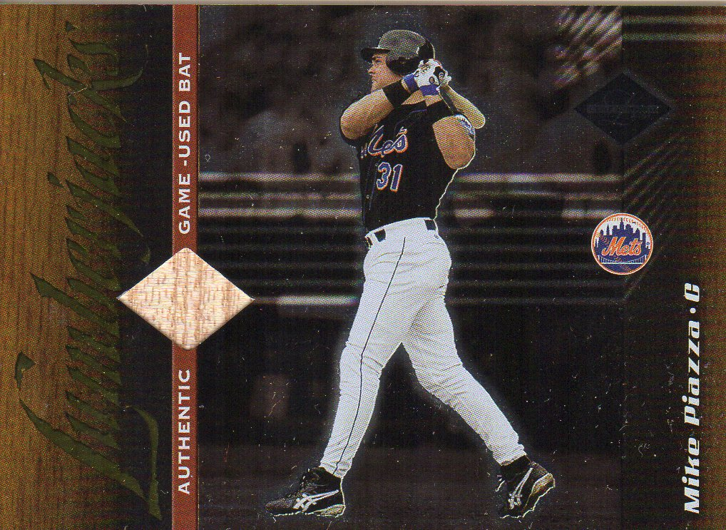 2001 Leaf Limited #151 Mike Piazza LUM/500
