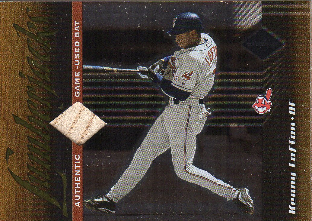2001 Leaf Limited #156 Kenny Lofton LUM/500