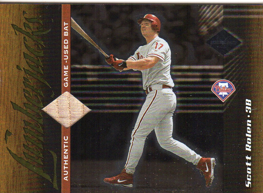 2001 Leaf Limited #157 Scott Rolen LUM/250
