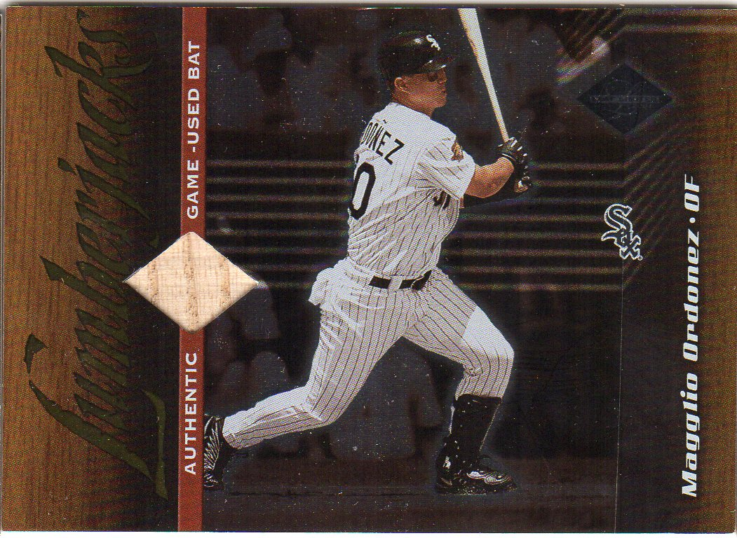 2001 Leaf Limited #164 Magglio Ordonez LUM/500