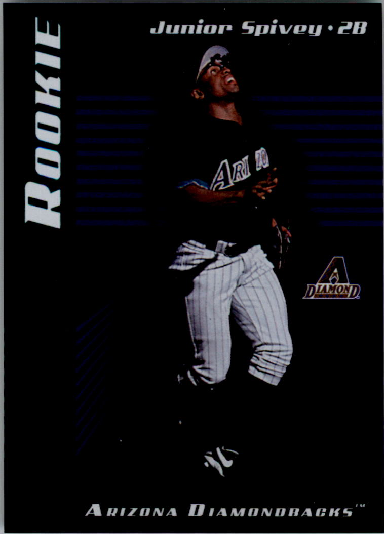 2001 Leaf Limited #289 Junior Spivey RC