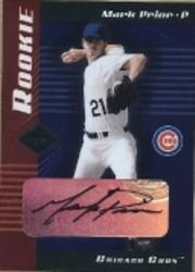 2001 Leaf Limited #307 Mark Prior AU/500 RC