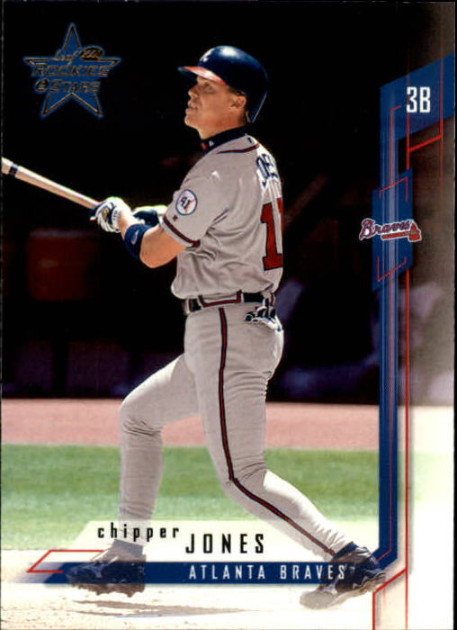 2001 Leaf Rookies and Stars #10 Chipper Jones