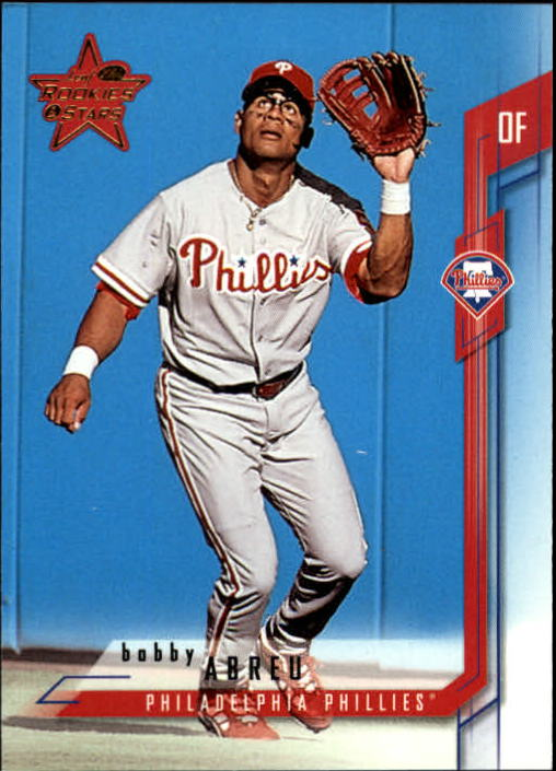 2001 Leaf Rookies and Stars #14 Bobby Abreu