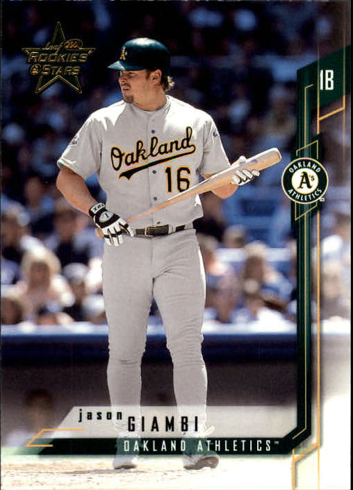 2001 Leaf Rookies and Stars #16 Jason Giambi