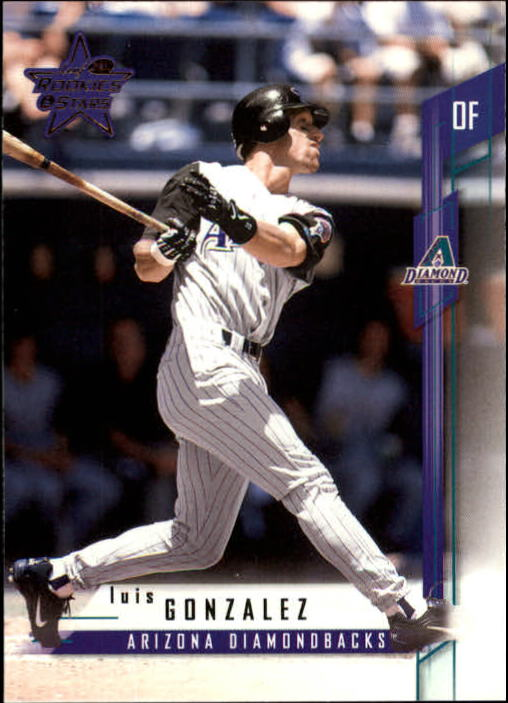 2001 Leaf Rookies and Stars #20 Luis Gonzalez
