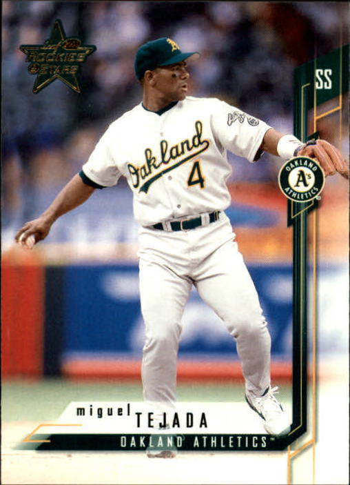 2001 Leaf Rookies and Stars #56 Miguel Tejada