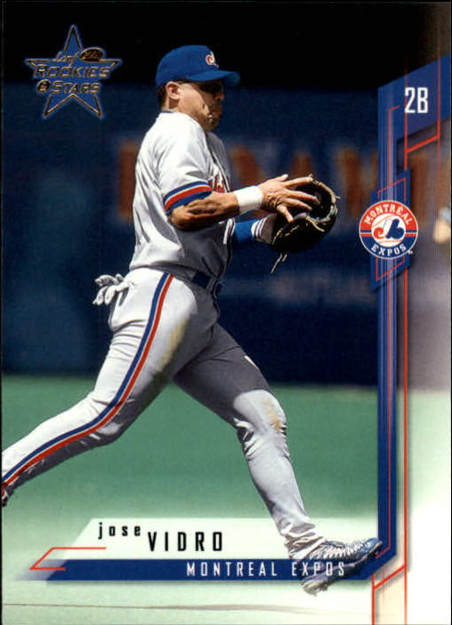 2001 Leaf Rookies and Stars #58 Jose Vidro