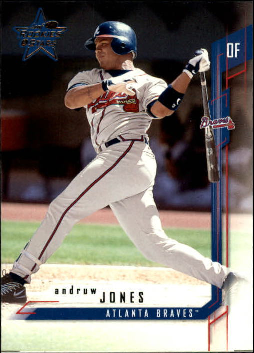 2001 Leaf Rookies and Stars #83 Andruw Jones