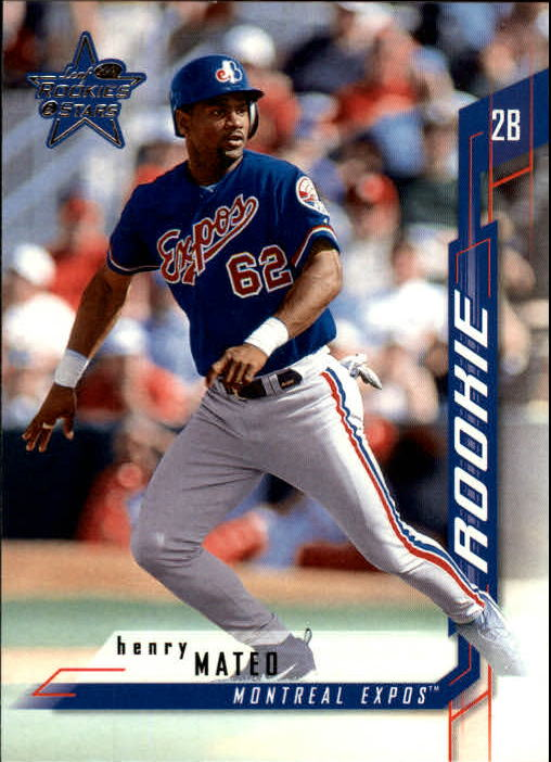 2001 Leaf Rookies and Stars #137 Henry Mateo RC