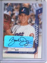 2001 Leaf Rookies and Stars Autographs #240 Zach Day/250 *
