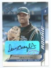 2001 Leaf Rookies and Stars Autographs #257 Dewon Brazelton/100 *