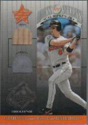 2001 Leaf Rookies and Stars Dress for Success #DFS1 Cal Ripken