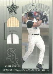 2001 Leaf Rookies and Stars Dress for Success #DFS4 Frank Thomas