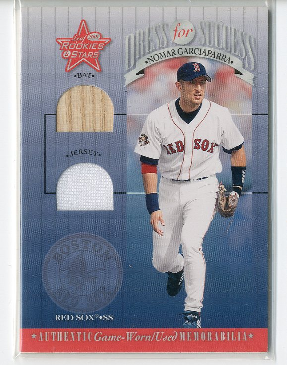 2001 Leaf Rookies and Stars Dress for Success #DFS5 Nomar Garciaparra