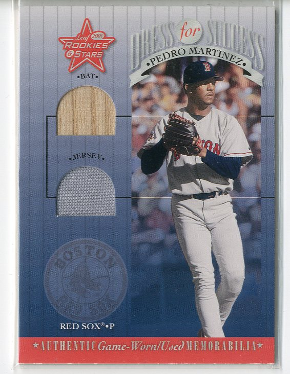 2001 Leaf Rookies and Stars Dress for Success #DFS20 Pedro Martinez