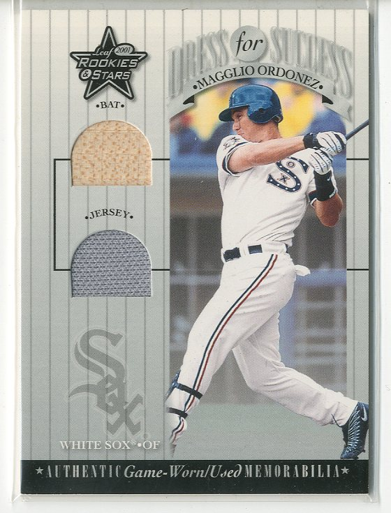2001 Leaf Rookies and Stars Dress for Success #DFS22 Magglio Ordonez