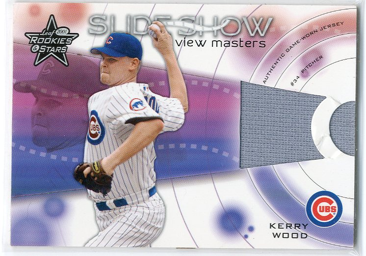 2001 Leaf Rookies and Stars Slideshow View Master #S22 Kerry Wood