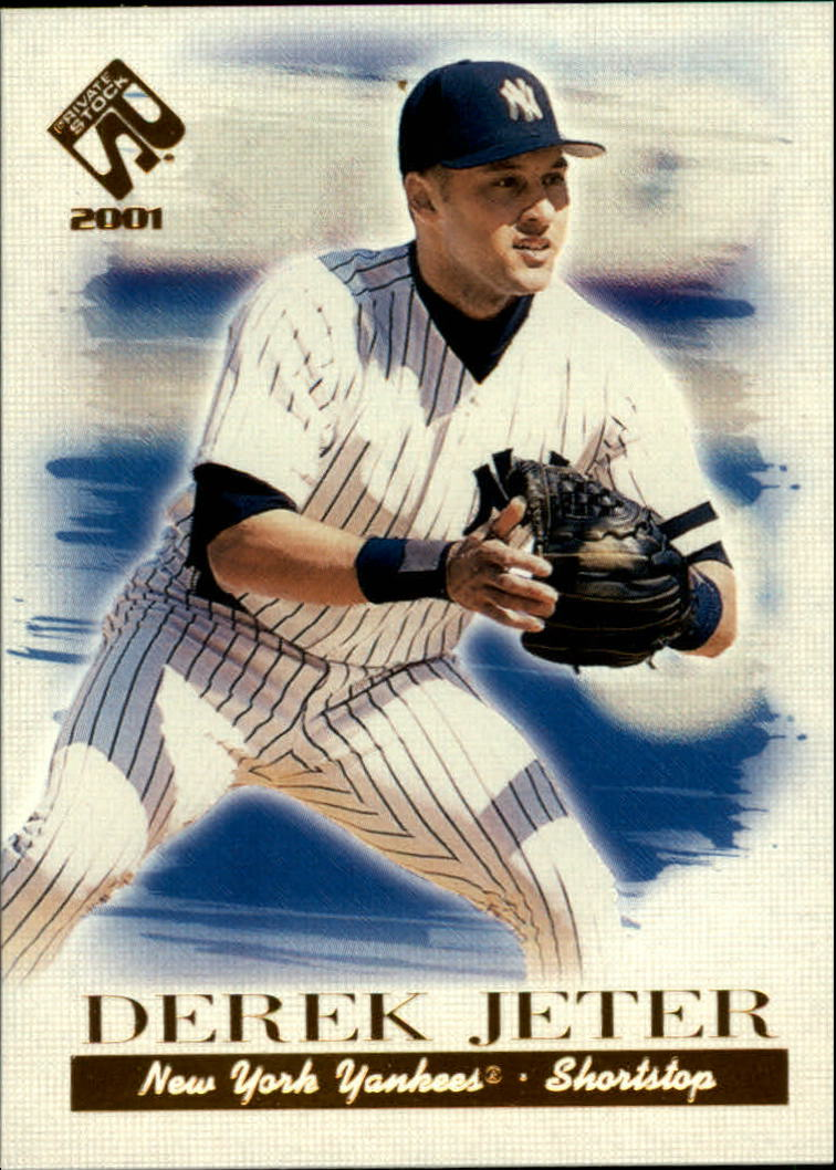 2001 Private Stock #79 Derek Jeter