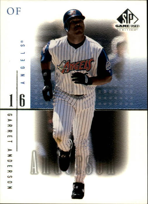 2001 SP Game Used Edition #1 Garret Anderson