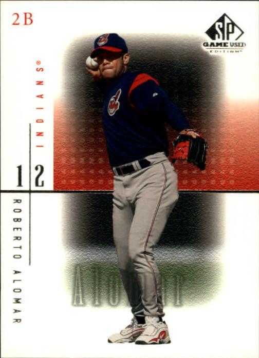2001 SP Game Used Edition #10 Roberto Alomar