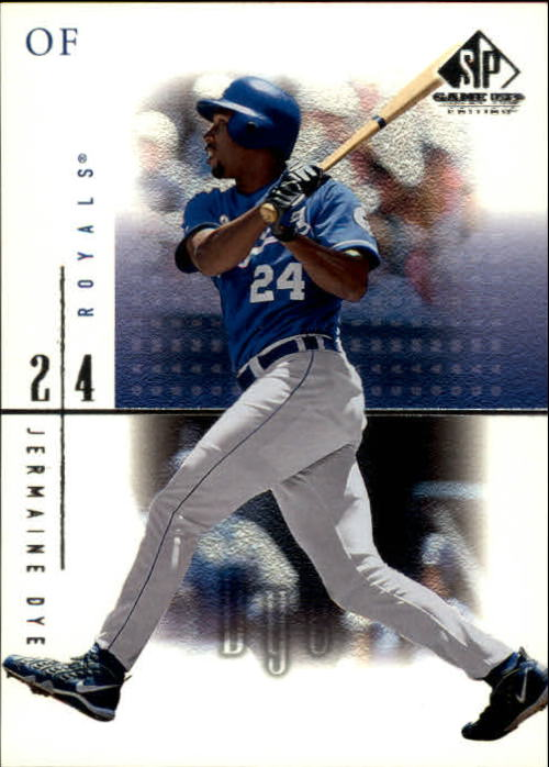 2001 SP Game Used Edition #21 Jermaine Dye